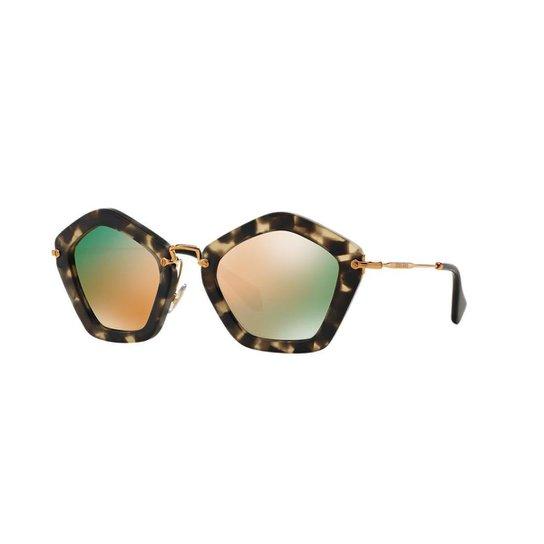 Óculos de Sol Miu Miu MU 06OS - Compre Agora   Zattini 87f07199ec