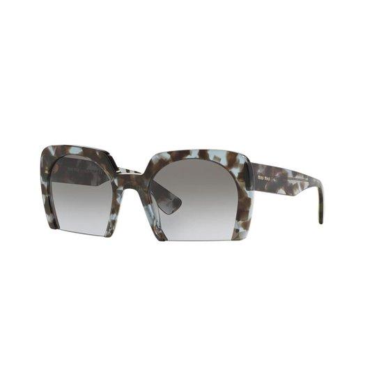 Óculos de Sol Miu Miu MU 06QS - Compre Agora   Zattini 26053f8769
