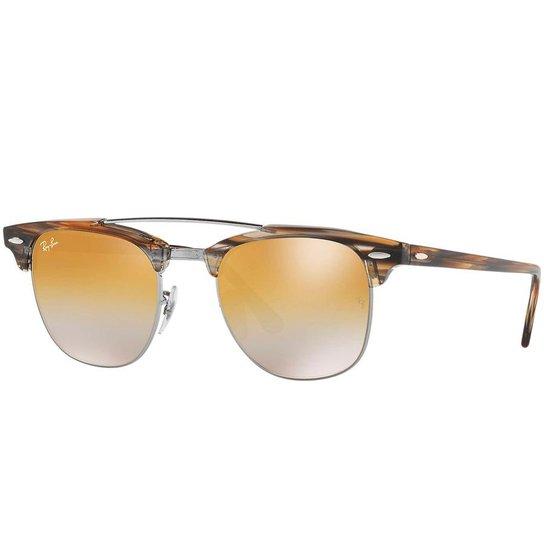2bbf4f6b6f9a2 Óculos de Sol Ray Ban ClubMaster Double Bridge RB - Compre Agora ...
