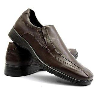 89bea62dfb Sapato Social com Elástico Vicerinne Masculino