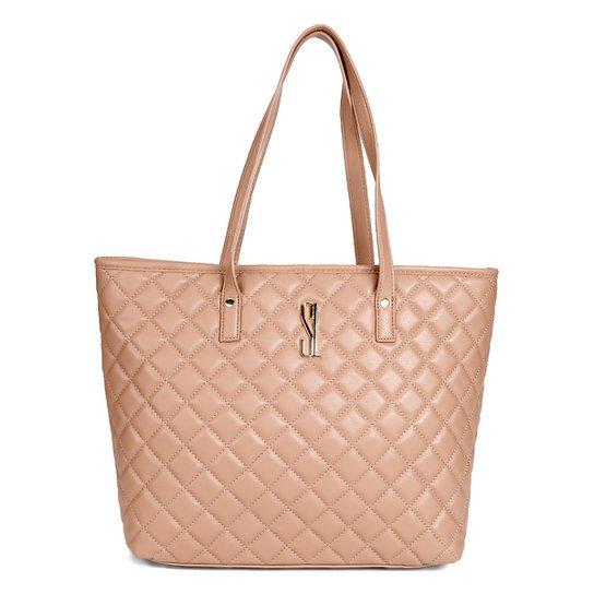 0d850fc60 Bolsa Santa Lolla Shopper Matelassê Feminina - Compre Agora