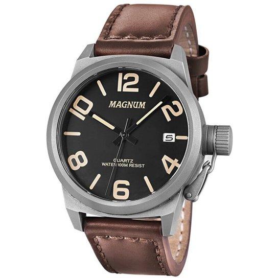 f8d4070c5c3 Relógio Magnum MA33433C - Marrom - Compre Agora