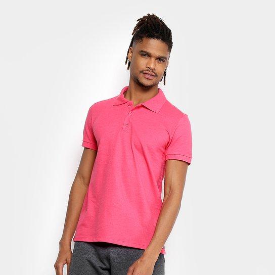 aed59643fe Camisa Polo Kohmar Piquet Básica Masculina - Pink - Compre Agora ...