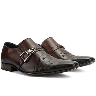 c85ac49a09 Sapato Social Bigioni Couro Masculino