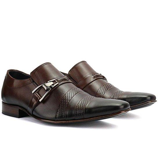 af8200e7cb06a Sapato Social Bigioni Couro Masculino - Compre Agora | Zattini