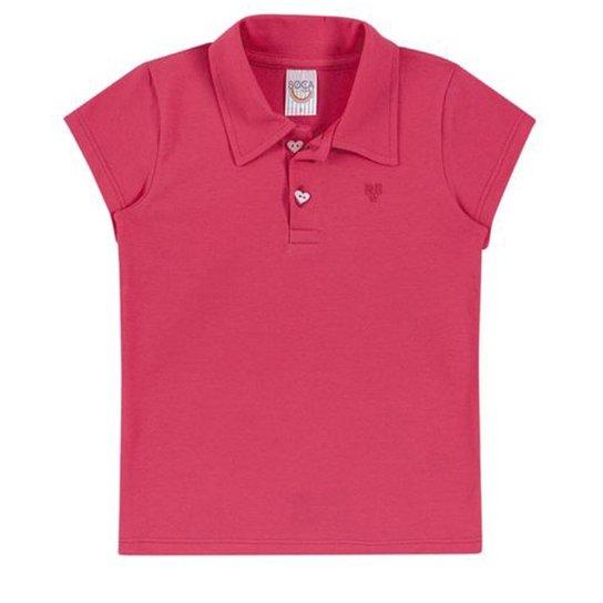 Camisa Polo Infantil Boca Grande Feminina - Pink - Compre Agora ... 4a6b3b08b184d
