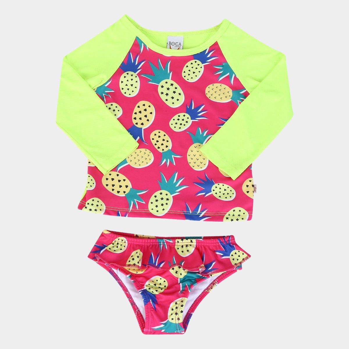 Conjunto Infantil Boca Grande c/ Proteção UV 50+ Feminino