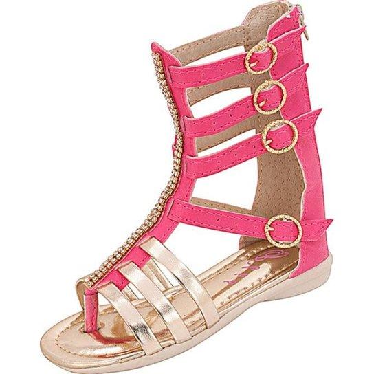 9ce8ceec7 Sandália Infantil Plis Calçados Carol Feminina - Pink - Compre Agora ...