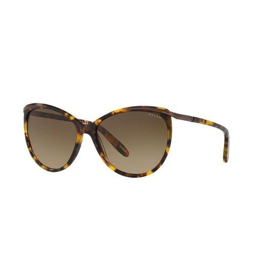 5d33abb872 Óculos de Sol Ralph RA5150 - Marrom - Compre Agora