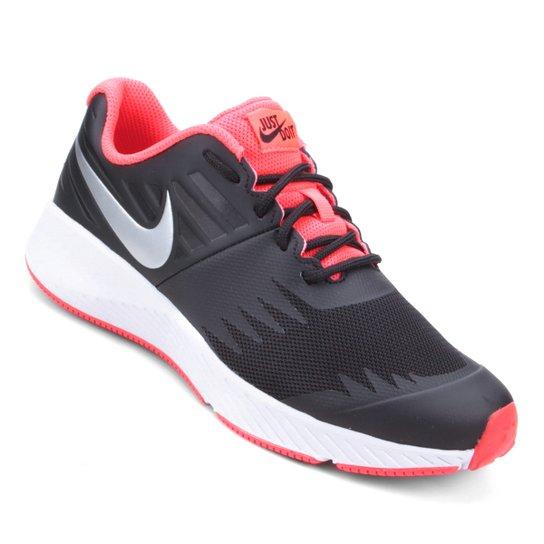 654814ff74 Tênis Nike Infantil Star Runner - Preto e Prata - Compre Agora