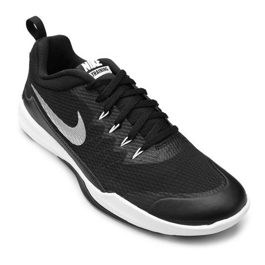 00cd432defb54 Tênis Nike Legend Trainer Masculino - Preto e Prata - Compre Agora ...