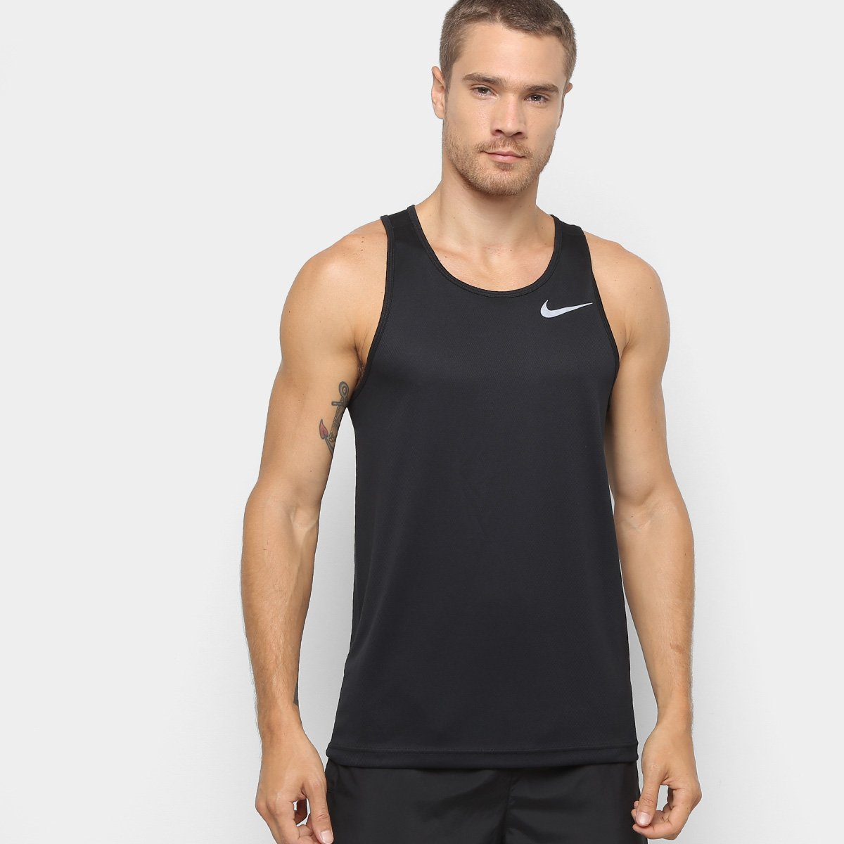 Haciendo Culpa Sinfonía  Camiseta Regata Nike Dri-fit Breathe Run Masculino