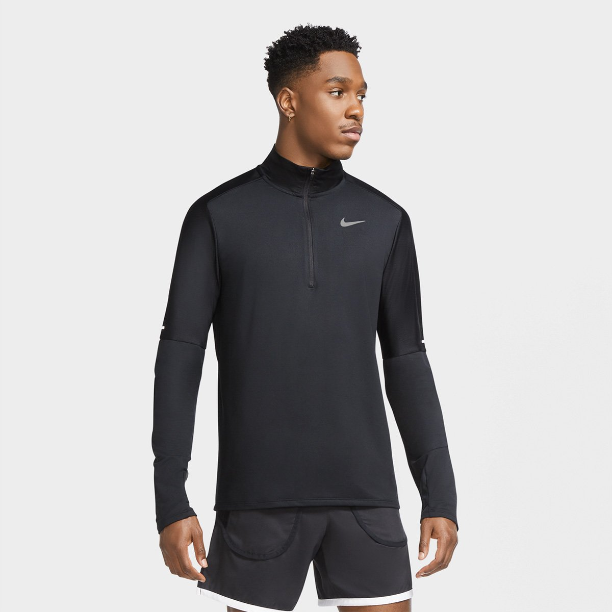 Blusa Nike Element Run Dri-Fit Masculina