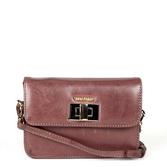 fbfbf7431 Bolsa Couro Verofatto Mini Bag Transversal Feminina | Zattini