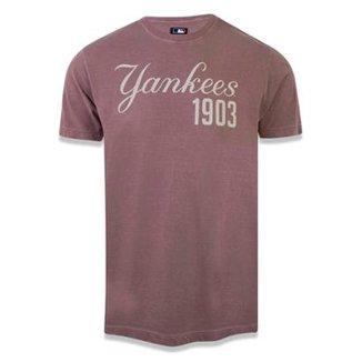 fb7dfa96fec Camiseta New York Yankees MLB New Era Masculina