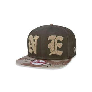 Boné 950 Original Fit Branded Aba Reta Snapback New Era d6fed740f62