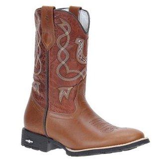 87f18253e Bota Couro Cowboy Cow Way Masculino
