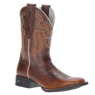 8a17ebb78 Bota Couro Country Smith Brothers Masculino