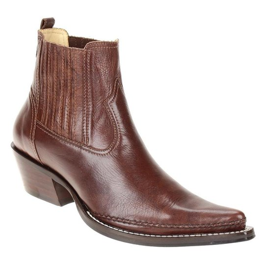 42a96a56f Bota Couro Texana West Country Masculina | Zattini