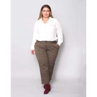 86b7c1526d Calça Plus Size Palank Feminina