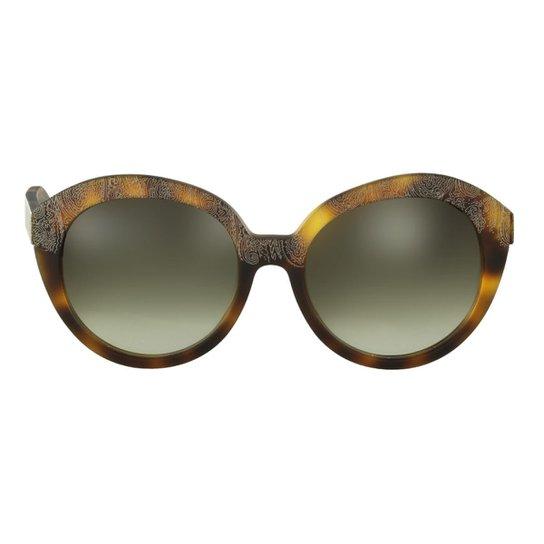 423953fa5b570 Óculos de Sol Etro Casual - Marrom - Compre Agora   Zattini