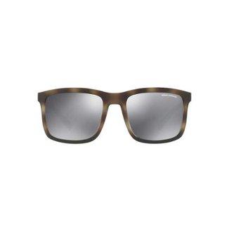 Óculos de Sol Armani Exchange Quadrado AX4067S Masculino 9bb86d580f