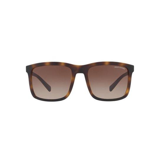 11ff16feee8d7 Óculos de Sol Armani Exchange Quadrado AX4067S Masculino - Compre ...