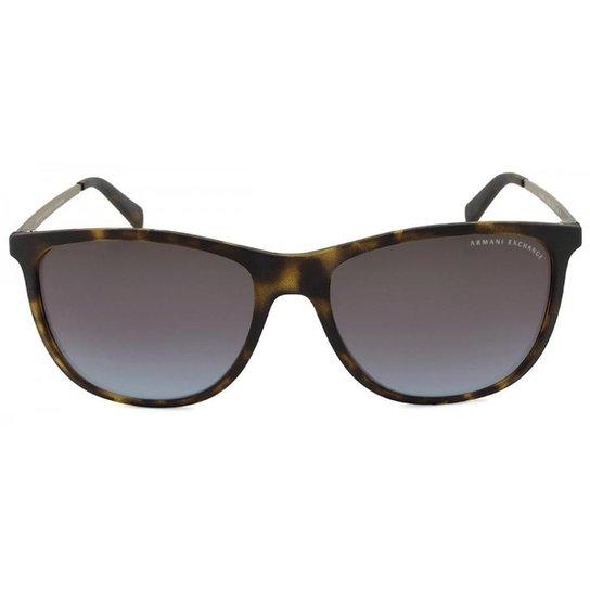 d931d494a5801 Óculos de Sol Armani Exchange Masculino - Marrom - Compre Agora ...
