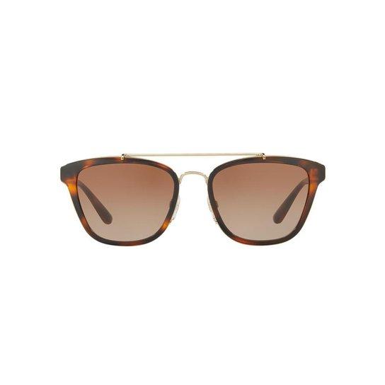 f406adcdea888 Óculos de Sol Burberry Quadrado BE4240 Feminino - Marrom - Compre ...