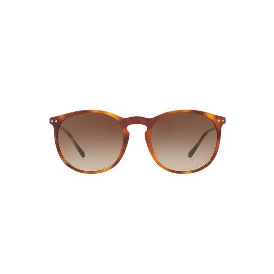 Óculos de Sol Burberry Redondo BE4250Q Masculino - Compre Agora ... 9c64b18343