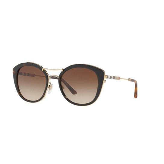 d5a7899d03 Óculos de Sol Burberry BE4251Q - Marrom - Compre Agora