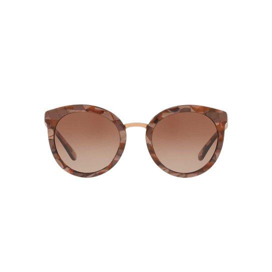 Óculos de Sol Dolce   Gabbana Redondo DG4268 Feminino - Compre Agora ... 5e57061fcd