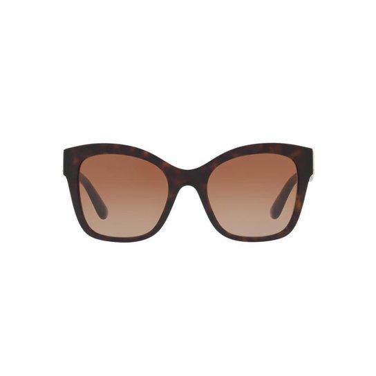 ef7cb84ba7a01 Óculos de Sol Dolce   Gabbana Quadrado DG4309 Feminino - Marrom ...
