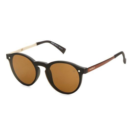 74ab14da6 Óculos de Sol Marielas Rebeca BR9226 Feminino - Marrom   Zattini