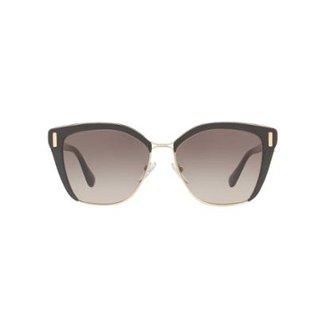 e95dbde4c2 Óculos de Sol Prada Quadrado PR 56TS Feminino