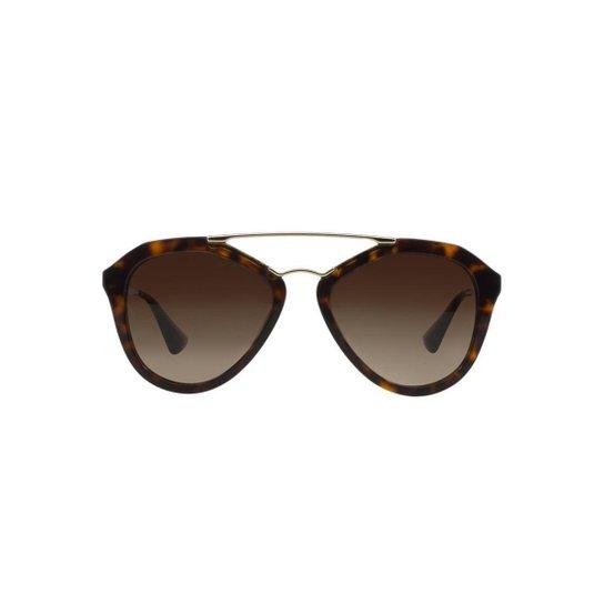97382d89255e6 Óculos de Sol Prada Piloto PR 12QS Cinema Feminino - Compre Agora ...