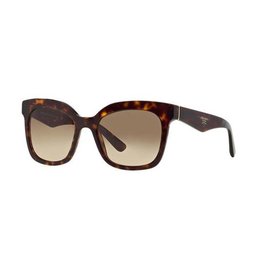 Óculos de Sol Prada PR 24QS Triangle - Compre Agora   Zattini cf727b0b16