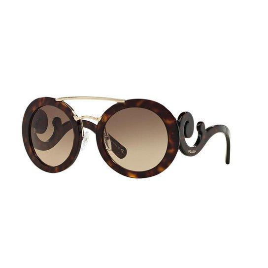 Óculos de Sol Prada PR 13SS - Compre Agora   Zattini 2db4b7614c