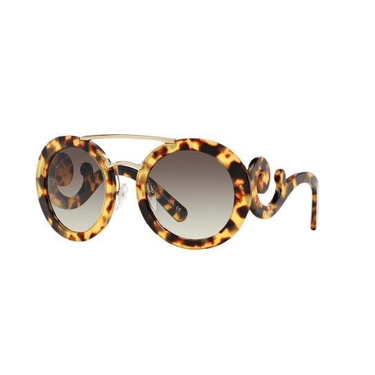 cb40b6cb43c75 Óculos de Sol Prada PR 13SS - Compre Agora   Zattini