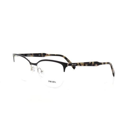 40d012ce41afc Armação De Óculos De Grau Prada 53V T 55 C 262-1O1 Feminino - Compre ...