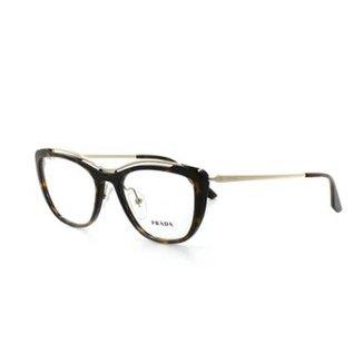 f451bd4d2f9b7 Armação De Óculos De Grau Prada 04V T 53 C 2Au1O1 Feminino