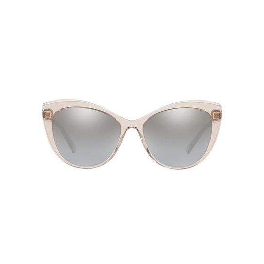 e4b5bbc44 Óculos de Sol Versace VE4348 Feminino - Marrom | Zattini