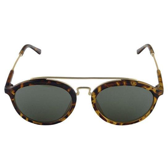 534906d5c Óculos de Sol Khatto Round Caçador - Compre Agora | Zattini