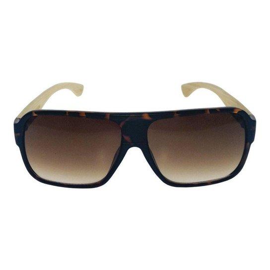 c6ec2921557cd Óculos de Sol Khatto Mafioso Bamboo Masculino - Compre Agora