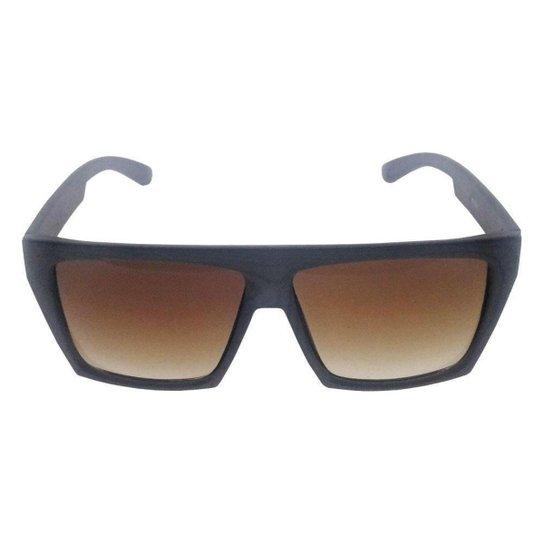 12d725c0ce0e2 Óculos de Sol Khatto Square Masculino - Marrom - Compre Agora