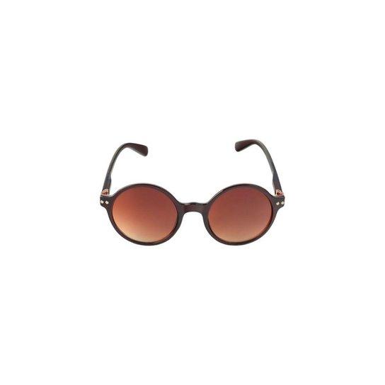 89f06a309e969 Óculos de Sol Khatto Round Casual Feminino - Compre Agora