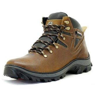 dd9bc21ab7 Bota Accona em Couro Box com 2 Zíperes CTZ304 · Confira · Bota Atron Shoes  Adventure Castor