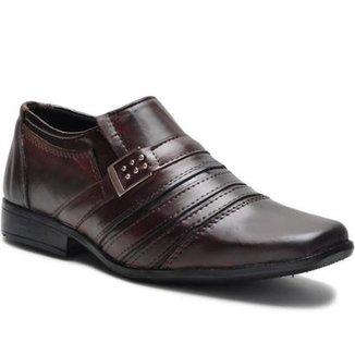 b78686510 Sapato Social Masculino Monaco com Costura Superior