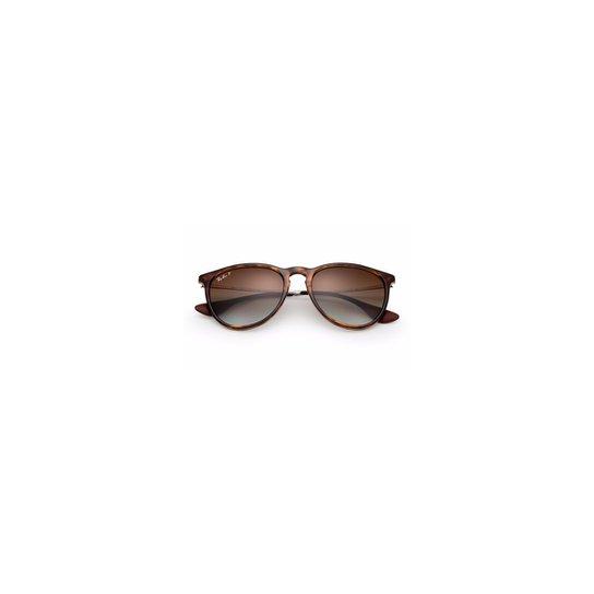 9f2716988e3a2 Óculos de Sol Ray Ban Erika - Marrom - Compre Agora