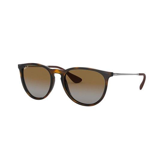 481f30b3dc557 Óculos de Sol Ray-Ban RB4171L Erika - Marrom - Compre Agora